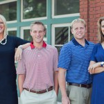 brandi bryant, rob clouser, jeff henley cpa, nicole doss cpa, 324 franklin street clarksville tn smile on a beautiful day to get picture taken