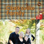 Clarksville Family Magazine Thurman Campbell Quickbooks employee Brandi Bryant and her family at a fun day Rotary Park