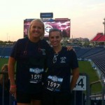 tennessee titans in nashville tn. Nicole and Brandi do a marathon.